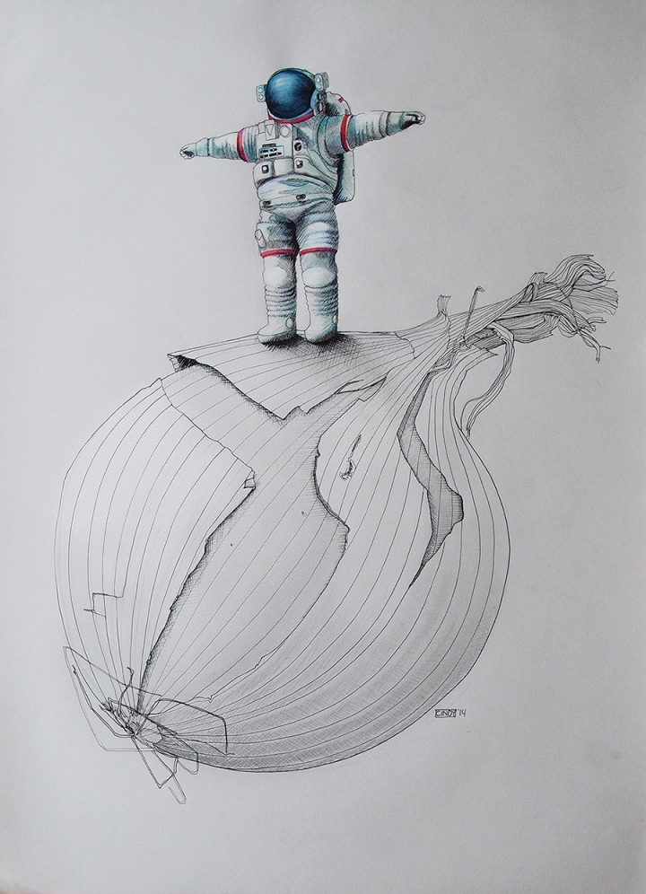Onionaut – Stand Up Posing (Detail)