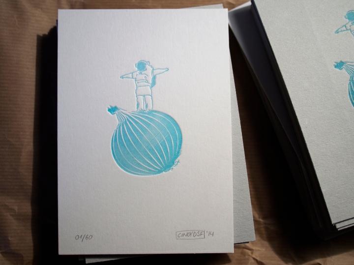 Onionaut – Letterpress 06